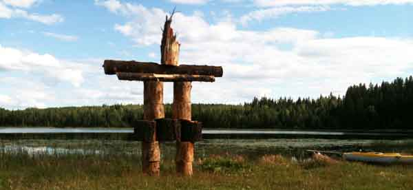 Inuksuk in Williams Lake