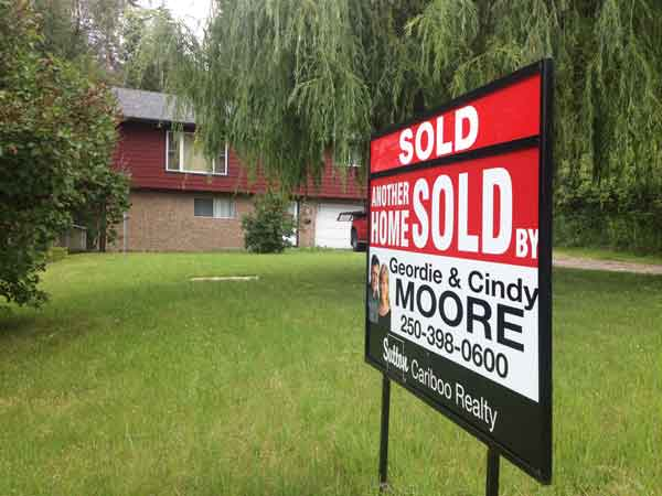 Confortable house sold in Williams lake